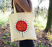Nákupné tašky - Eko taška - Strom (100% bavlna) - 11696659_