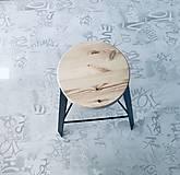 Nábytok - Predám barové stoličky (Čierna) - 11695054_