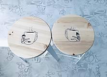Nábytok - Predám barové stoličky - We love us & we love coffee - 11695149_