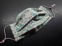 Rúška - Bavlnené rúško rôzne vzory podľa môjho výberu - 11699652_