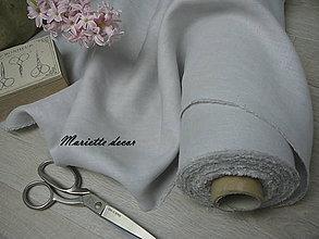 Textil - NOVĚ odstín GRIS CLAIR ...185g/m2 metráž - 11699034_