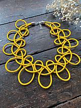 Náhrdelníky - Žlutý límeček - 11699740_