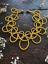 Náhrdelníky - Žlutý límeček - 11699741_