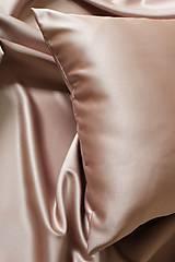 Úžitkový textil - Saténová obliečka na vankúš - 11697193_