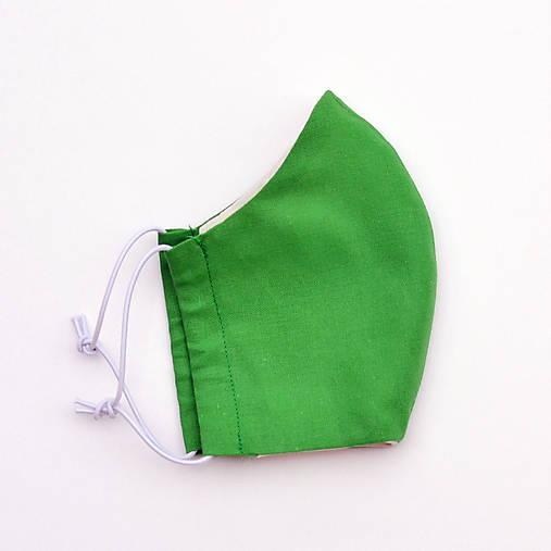Rúško zelené