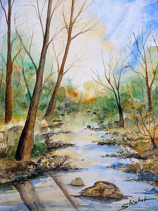 Jarný potok - Originál