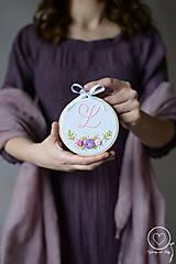 Detské doplnky - Malá Vyšiláska s iniciálou - 11699743_