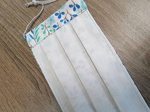rúško 2-vrstvové na gumičky