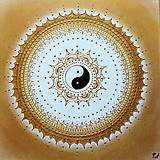 SPIRITUALITA (gold-white) 40 x 40