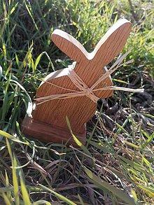 Hračky - Drevený poľný zajačik - 11700048_