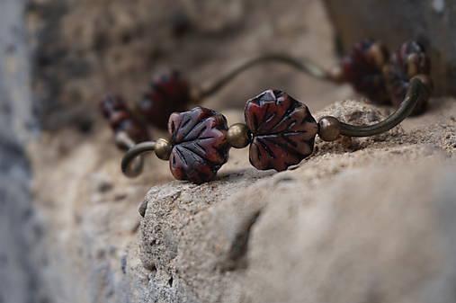 Náramok - Javorové listy