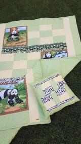 """Textil - """"PANDA"""" patchworková súprava - 11701469_"""