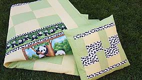 """Textil - """"PANDA"""" patchworková súprava - 11701476_"""