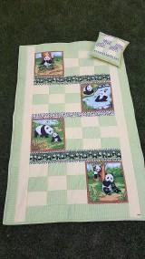 """Textil - """"PANDA"""" patchworková súprava - 11701477_"""