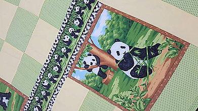 """Textil - """"PANDA"""" patchworková súprava - 11701465_"""