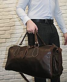 Veľké tašky - Venezuela - kožená cestovná taška - 11701266_