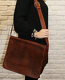Na notebook - Bolívia - kožená taška na notebook UNISEX - 11701301_