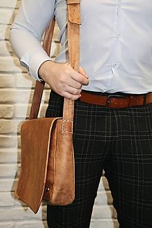 Na notebook - Argentína - kožená taška na notebook UNISEX - 11701334_