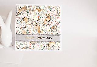Papiernictvo - Veselú Veľkú noc - zajo - 11701488_