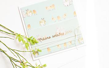 Papiernictvo - Krásne sviatky jari - green - 11701621_