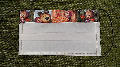 Rúška - Detské rúško MÁŠA - 11703210_