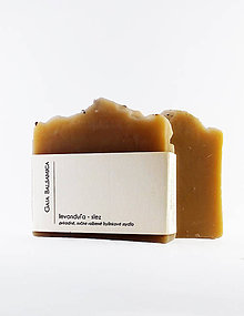 Drogéria - Prírodné bylinkové mydlo LEVANDUĽA - SLEZ - 11704795_