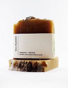 Drogéria - Prírodné bylinkové mydlo MEDOVKA - REBRÍčEK - 11704912_