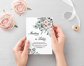 Papiernictvo - Svadobné oznámenie Odeta 2 - 11703881_