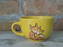Nádoby - Šálka - Líšky - 11704472_