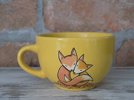 Šálka - Líšky