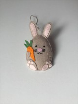 Dekorácie - Veľkonočné vajíčka - ovečka, prasiatko, zajačik - 11704965_