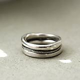 Prstene - Masivní střibrný prsten ITAN - 11703720_