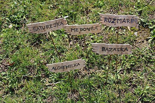 Umenie_srdca: Keramický označovač do záhradky