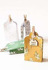 """Krabičky - Set darčekových krabičiek 4ks """"spring"""" - 11706002_"""