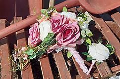 Kytice pre nevestu - svadobná kytica - 11709923_
