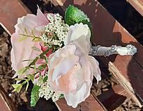 Kytice pre nevestu - svadobná kytica - 11710030_