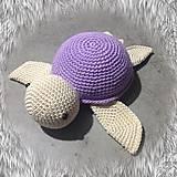 Hračky - korytnačka fialová SKLADOM - 11710956_
