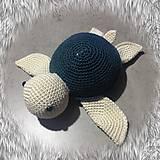 Hračky - korytnačka tmavozelená SKLADOM - 11710972_