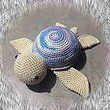 Hračky - korytnačka farebná SKLADOM - 11710993_