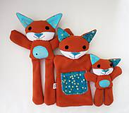 Hračky - Maňuška líška  (Rodinka Hrdzavých od Zlatej Bodky) - 11710541_