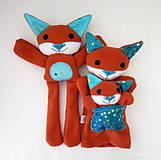 Hračky - Maňuška líška  (Rodinka Hrdzavých od Zlatej Bodky) - 11710542_