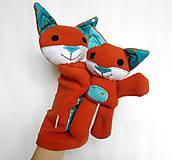Hračky - Maňuška líška  (Rodinka Hrdzavých od Zlatej Bodky) - 11710553_