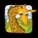 Hračky - Divočina - drevené pexeso (24ks) - 11710892_