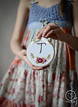 Detské doplnky - Malá Vyšiláska s iniciálou - 11711318_