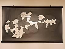 Obrázky - Odlepovacia mapa Slovenska - 11710966_