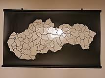 Obrázky - Odlepovacia mapa Slovenska - 11710967_