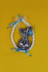 Dobrý obchod - Umenie_srdca: Závesné vajíčko so symbolom jari - 11708781_