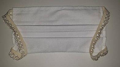 Rúška - Rúško s ozdobnou gumičkou - 11709016_