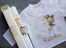 Detské oblečenie - Set do krstu- Prichádza jar - 11711920_