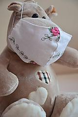 Rúška - Detské rúško na tvár - 11712098_